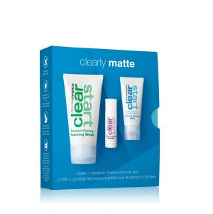 CLEAR START CLEARLY MATTE SKIN KIT X CLEARING DEFENSE SPF30